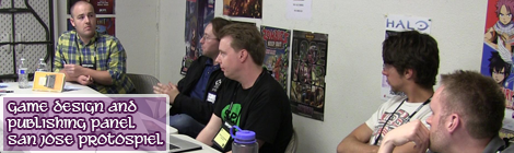 Tabletop Game Publishing and Design Panel – 2015 San Jose Protospiel