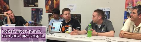 Kickstarter Panel – 2015 San JoseProtospiel