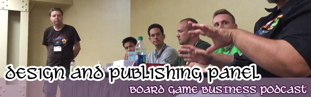 Game Design and Publishing Panel at Gen Con2016